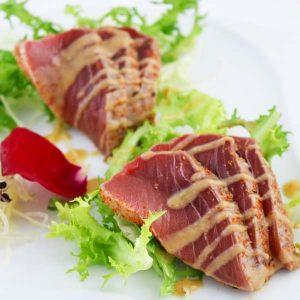 hisyou ristorante di sushi take away consegna a domicilio - antipasto maguru tataki