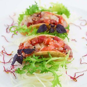 hisyou ristorante di sushi take away consegna a domicilio - antipasto tacos