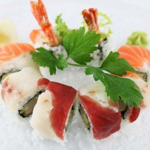 hisyou ristorante di sushi take away consegna a domicilio - maki e sushi specialli arcobaleno maki