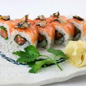 hisyou ristorante di sushi take away consegna a domicilio - maki e sushi specialli tartufo e salmone