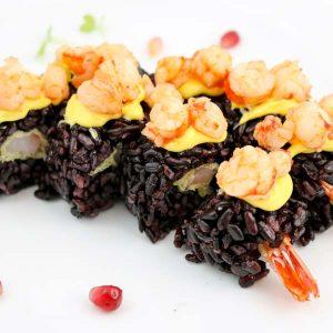 hisyou ristorante di sushi take away consegna a domicilio - maki e sushi speciali noir maki