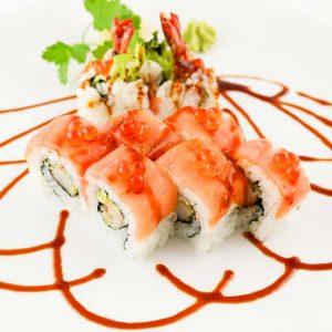 hisyou ristorante di sushi take away consegna a domicilio - maki e sushi speciali tiger uramaky