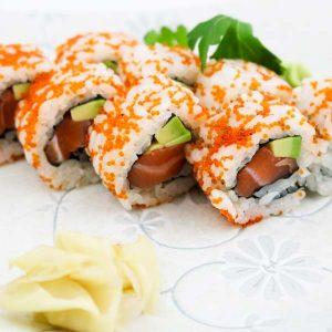 hisyou ristorante di sushi take away consegna a domicilio - maki e sushi speciali tobiko uramaki