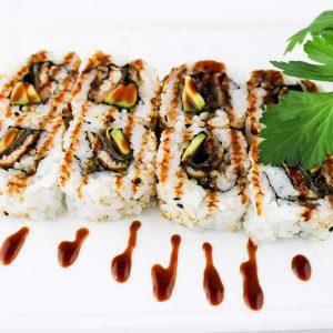 hisyou ristorante di sushi take away consegna a domicilio - maki e sushi speciali unagi maki