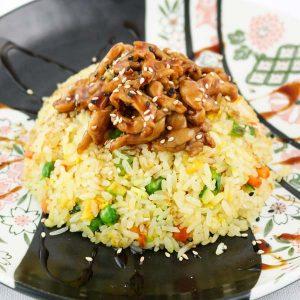 hisyou ristorante di sushi take away consegna a domicilio - primi riso alla piastra con filetto mignon
