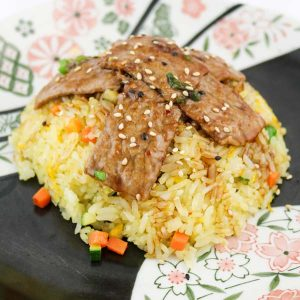 hisyou ristorante di sushi take away consegna a domicilio - primi riso con pollo