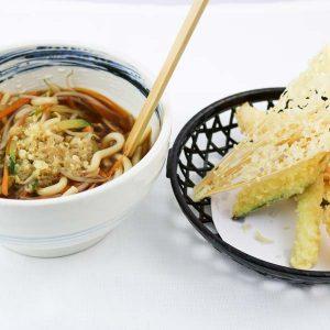 hisyou ristorante di sushi take away consegna a domicilio - primi tempura udon