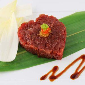 hisyou ristorante di sushi take away consegna a domicilio - sashimi tartare di tonno