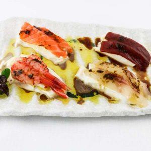 hisyou ristorante di sushi take away consegna a domicilio - sashimi yuzu sashimi