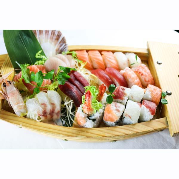 hisyou ristorante di sushi take away consegna a domicilio - sushi e sashimi barca family