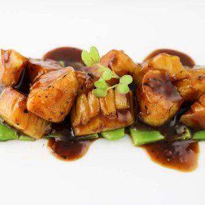 hisyou ristorante di sushi take away consegna a domicilio - teppanyaki cappesante speciali