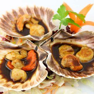 hisyou ristorante di sushi take away consegna a domicilio - teppanyaki hotategai teppanyaki