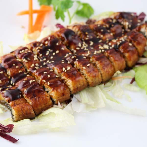 hisyou ristorante di sushi take away consegna a domicilio - yakimono unagi kebayaki